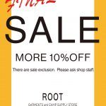 "ROOT DAIKANYAMA ""FINAL SALE""!!"