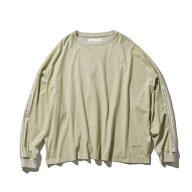 F/CE.®/SHELTECH DROP SD LONG T/ エフシーイー シェルテックドロップショルダーロングTシャツ