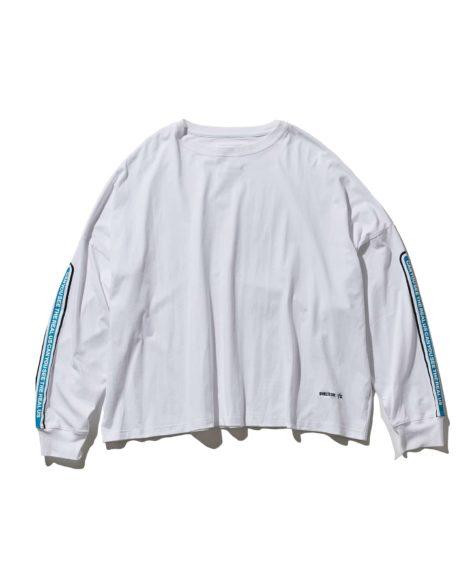 F/CE.® SHELTECH DROP SD LONG T/ エフシーイー シェルテックドロップショルダーロングTシャツ