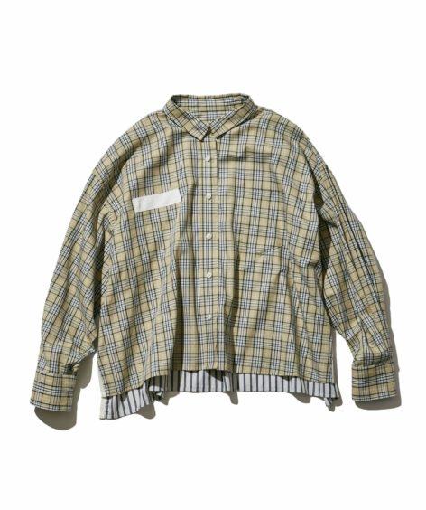 F/CE.® CHECK SHORT SHIRT/ エフシーイー チェックシャツ SALE