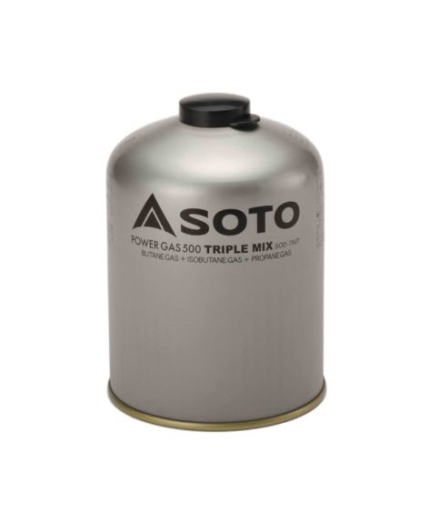 SOTO パワーガス500トリプルミックス