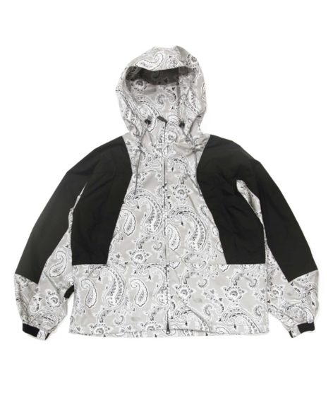 THE NORTH FACE PURPLE LABEL Paisley  Print Mountain Wind Parka / ザ・ノースフェイス ペイズリー ウインド マウンテンパーカー SALE