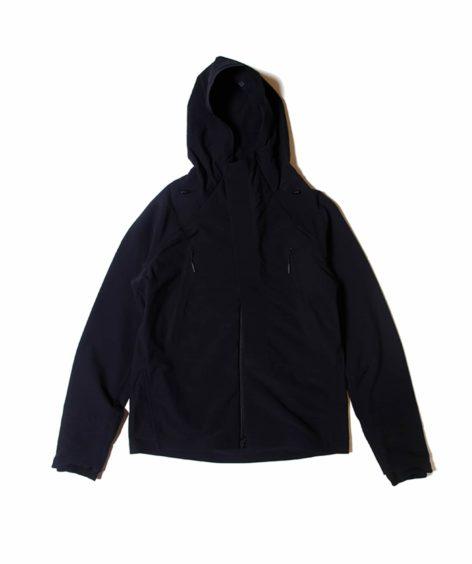 DESCENTE ALLTERRAIN / デサントオルテライン ストレッチフーデッドフリースジャケット