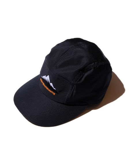 White Mountaineering MOUNTAIN LOGO EMBROIDERED JET CAP / ホワイトマウンテニアリング
