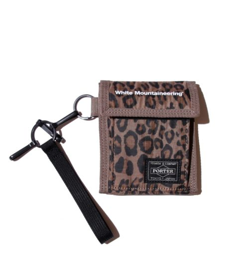 White Mountaineering WM x PORTER LEOPARD PRINTED WALLET / ホワイトマウンテニアリング