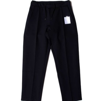 SATISFY 2592 SPACER POST-RUN PANTS BLACK / サティスファイ