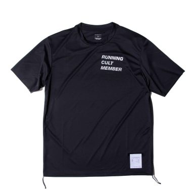 SATISFY 3115 LIGT TEE BLACK / サティスファイ