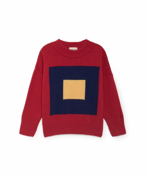 Bobo Choses / Intarsia Squares Jumper SALE