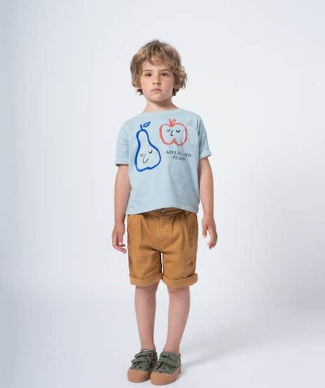 Bobo Choses / Apples And Pears Short Sleeve T-shirt SALE