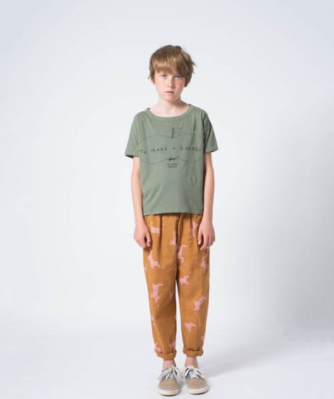 Bobo Choses / Ant and Apple Short Sleeve T-Shirt SALE