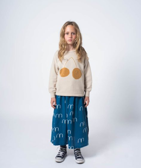 Bobo Choses / Cherry Round Neck Sweatshirt SALE