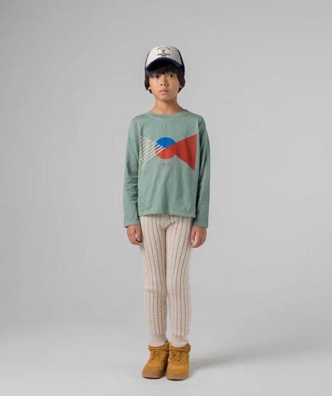 Bobo Choses / Flag Long Sleeve T-shirt / ボボショーズ ロングスリーブ Tシャツ SALE