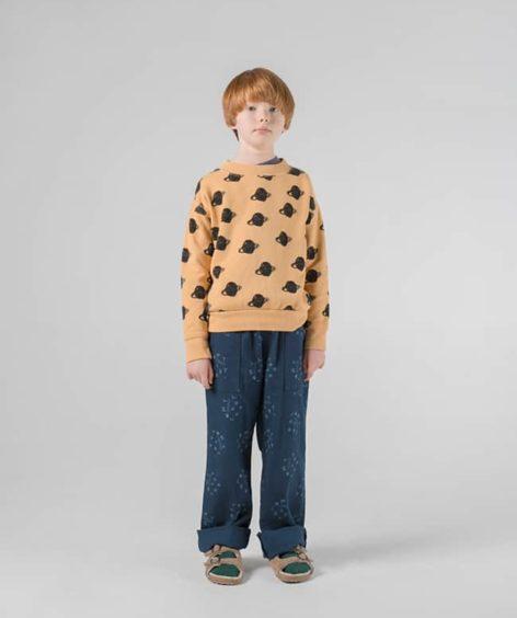 Bobo Choses / All Over Big Saturn Sweatshirt / ボボショーズ ビッグサターン スウェットシャツ SALE