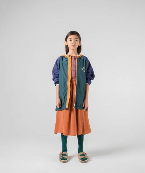 Bobo Choses / BOBO MULTICOLOUR PACKABLE WINDSTOPPER / ボボショーズ パッカブル ウィンドストッパー SALE