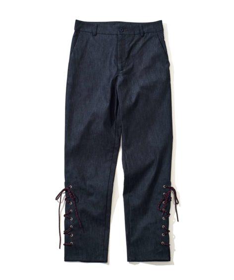 F/CE.®  LACE UP SLIM PANTS / エフシーイー レースアップスリムパンツ