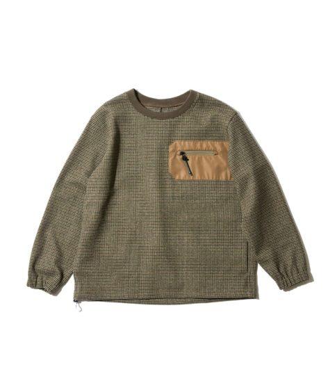 F/CE.® UF BRITISH CREW SHIRTS / エフシーイー ブリティッシュ クルーネックシャツ SALE