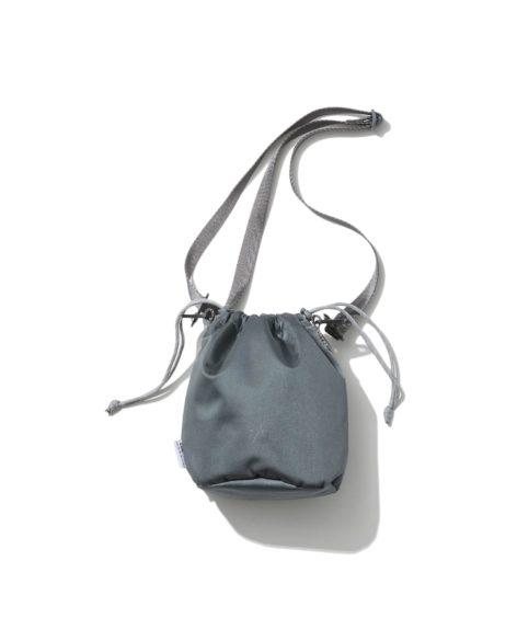 F/CE. SATIN DRAWSTRING/ エフシーイー サテンドローストリングバッグ