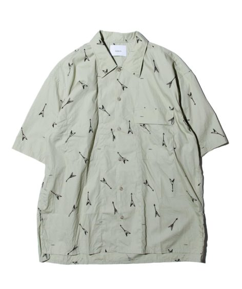 NUTERM Printed Work Shirt / ニューターム SALE