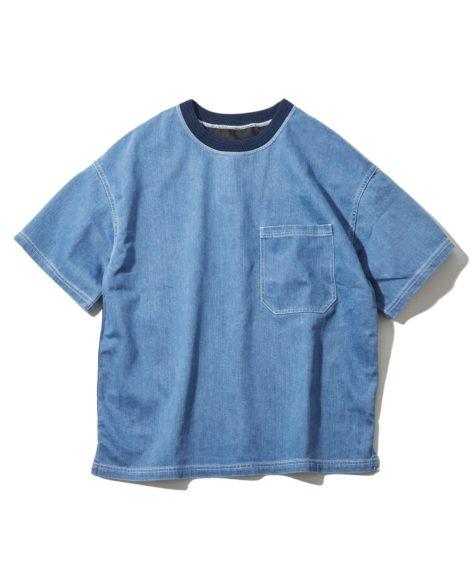 F/CE.® SHELTECH DENIM BRASH TEE / エフシーイー シェルテック デニム Tシャツ SALE