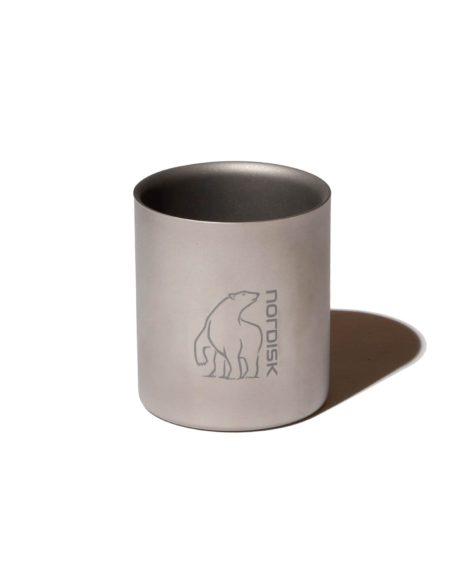 NORDISK Titanium Mug Double Wall 220ml / ノルディスク チタンダブルウォールマグ