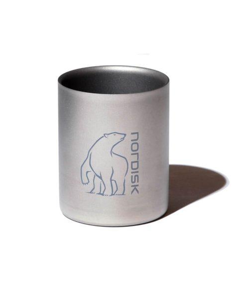 NORDISK Titanium Mug Double Wall 450ml / ノルディスク チタンダブルウォールマグ