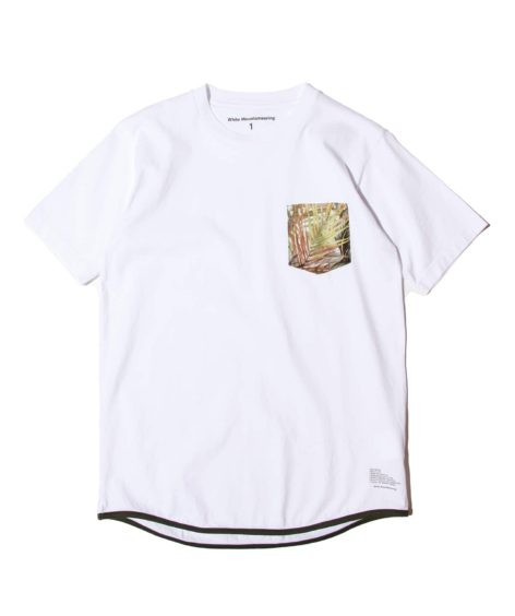 White Mountaineering BOTANICAL PRINTED POCKET T-SHIRT/ ホワイトマウンテニアリング