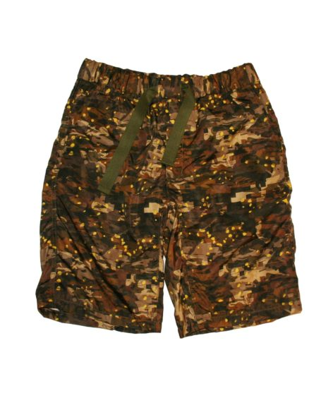 White Mountaineering LAYERED CAMO PRINTED EASY SHORT PANTS / ホワイトマウンテニアリング