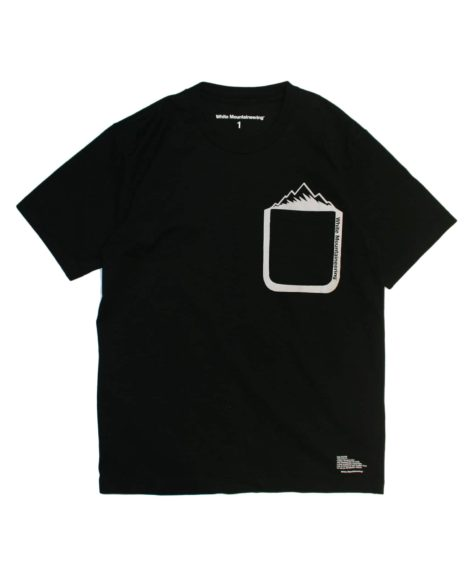 White Mountaineering MOUNTAIN PRINTED POCKET T-SHIRT / ホワイトマウンテニアリング