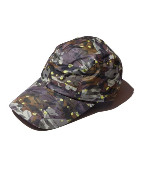 White Mountaineering LAYERED CAMO PRINTED LONG VISOR CAP / ホワイトマウンテニアリング SALE