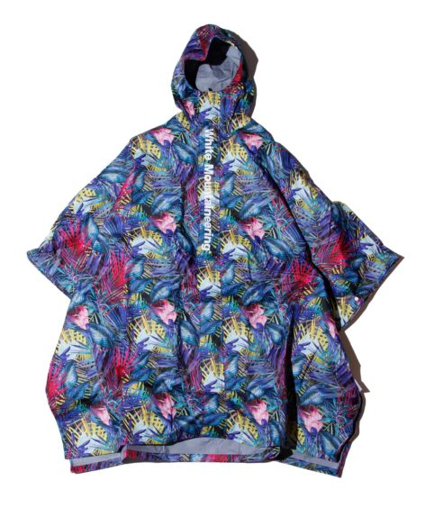 White Mountaineering BOTANICAL PRINTED RAIN PONCHO / ホワイトマウンテニアリング