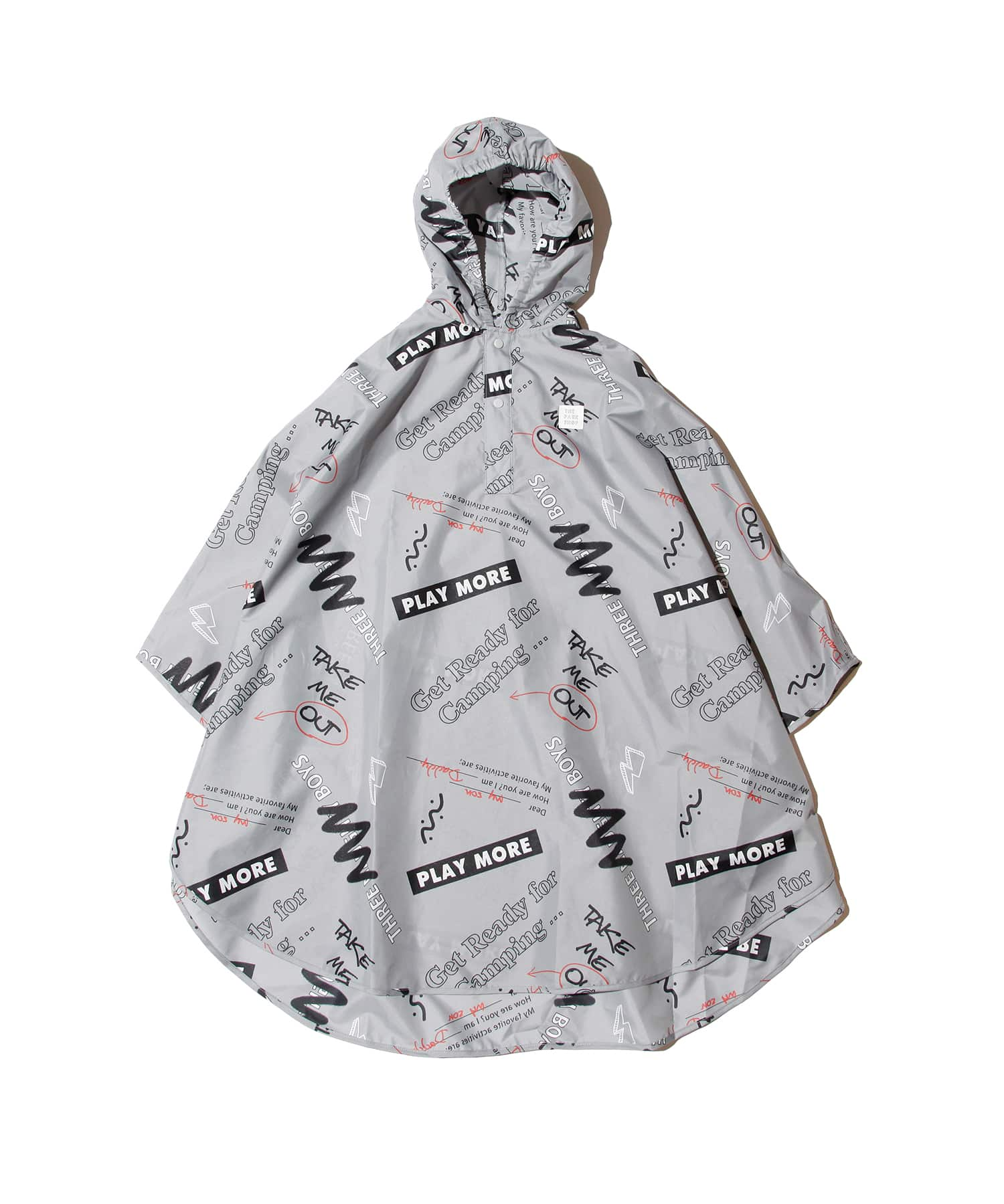 #0081 -THE PARK SHOP NO RAIN PONCHO KIDS-