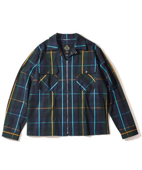 F/CE.® BRITISH SPINING MIL ZIP SHIRTS / エフシーイー ブリティッシュ スピニング ミルジップシャツ SALE