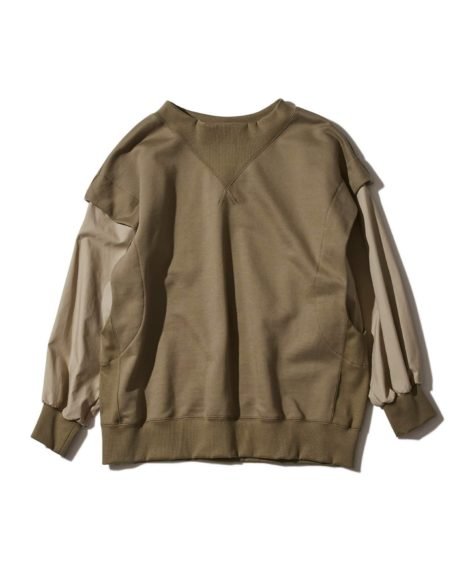 F/CE.® LAYERING  PO/ エフシーイー  レイヤリングスウェットシャツ