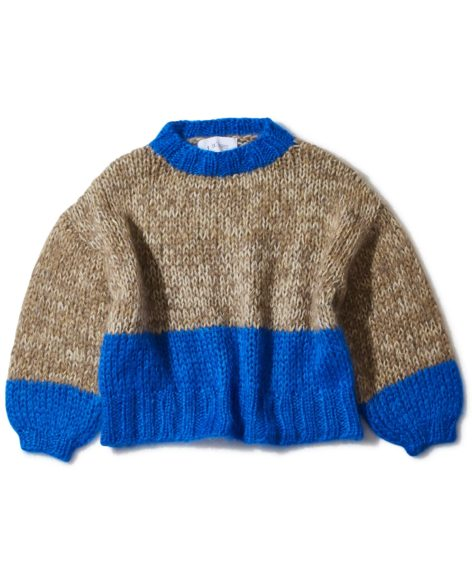 F/CE.® HAND KNIT STAND (Recycled wool mixed)/ エフシーイー ハンドニット スタンド(リサイクル ウール ミックス)