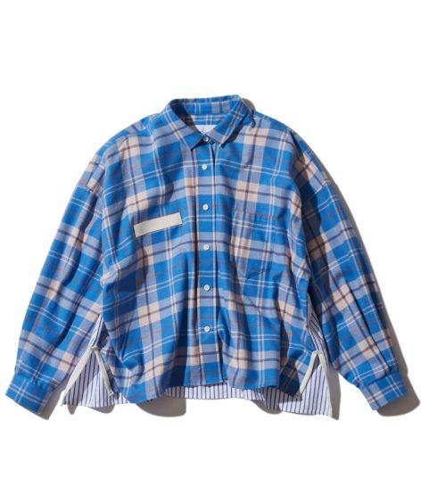 F/CE.® HIGH SWITHING CHECK SHIRT/ エフシーイー ハイスウィッチング  チェックシャツ