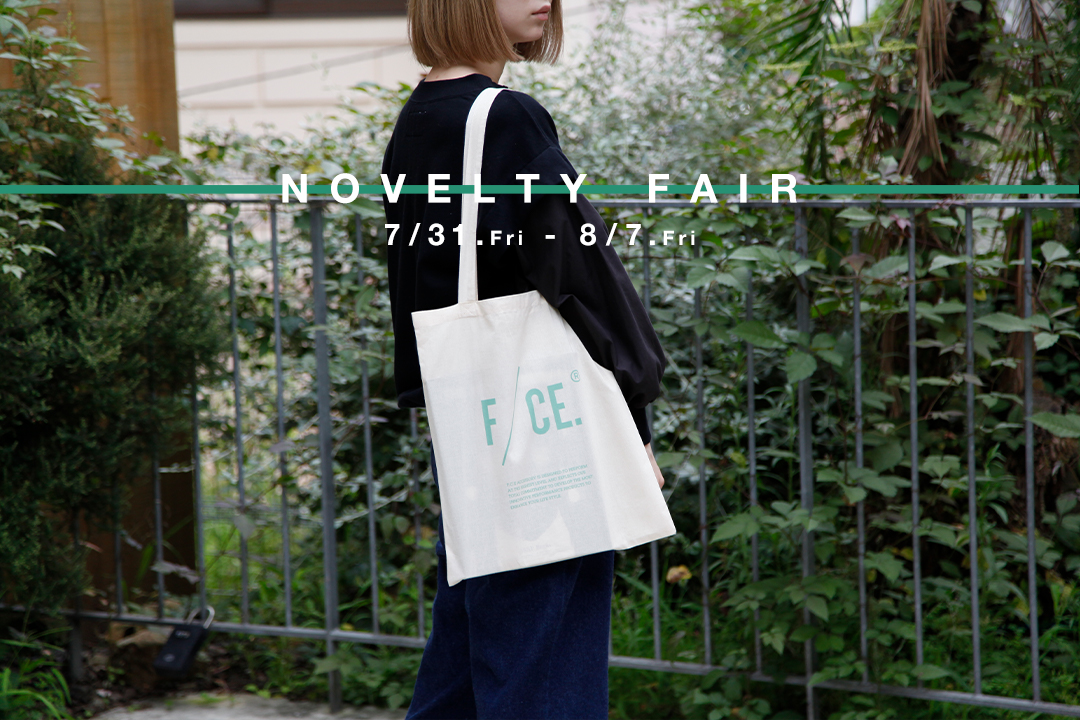 NOVELTY FAIR    F/CE.エコバッグプレゼント