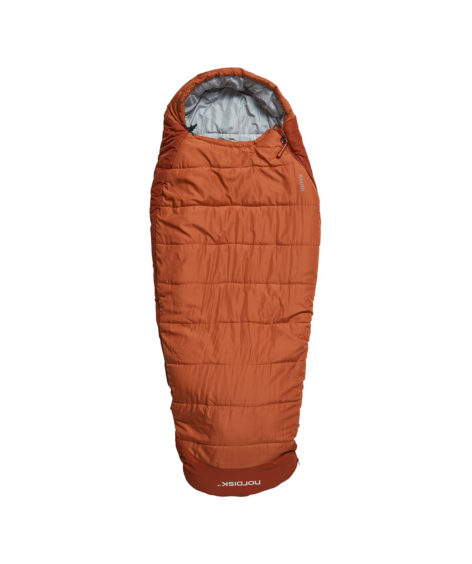 NORDISK Knuth Junior Sleeping Bag Burnt Red / ノルディスク クヌース ジュニア スリーピング バッグ バーントレッド