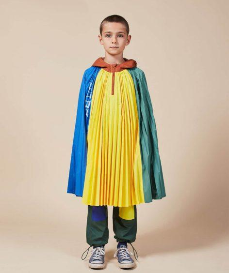 Bobo Choses Color Block Rain Poncho / ボボショーズ カラーブロックレインポンチョ SALE