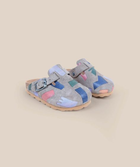 Bobo Choses Shadows Sheepskin Clogs  / ボボショーズ SALE