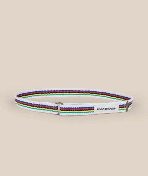 Bobo Choses Striped Belt  / ボボショーズ