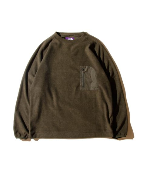 THE NORTH FACE  PURPLE LABEL PACK FIELD FLEECE CREW / ザ・ノースフェイス パープルレーベル