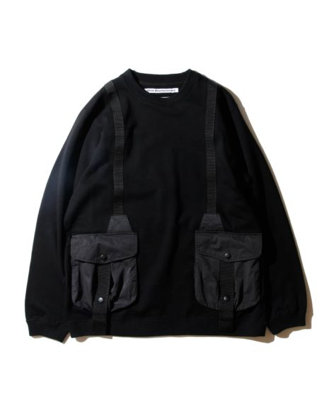 White Mountaineering HUNTING POCKET TAPED SWEATSHIRT / ホワイトマウンテニアリング SALE