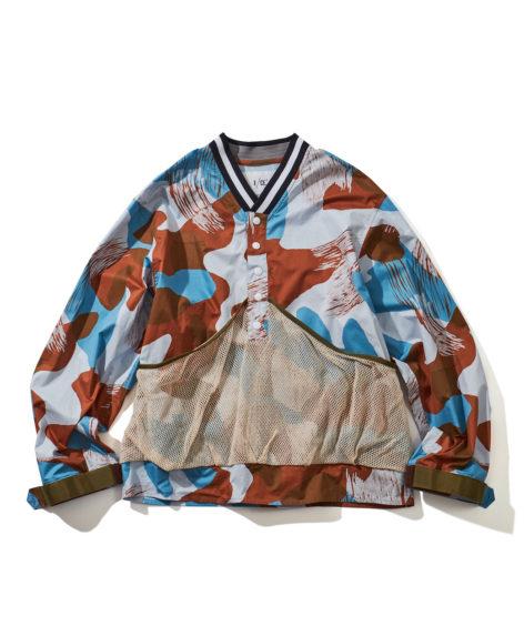 F/CE.® MESH JK / エフシーイー メッシュポケット付きプルオーバーシャツ