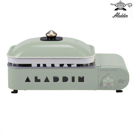 #129 -センゴク アラジン ポータブル ガス ホットプレート プチパン-