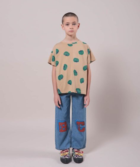 Bobo Choses Tomatoes All Over Short Sleeve T-Shirt  / ボボショーズ SALE