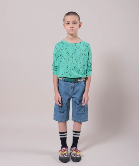 Bobo Choses Playtime All Over Long Sleeve T-Shirt  / ボボショーズ SALE