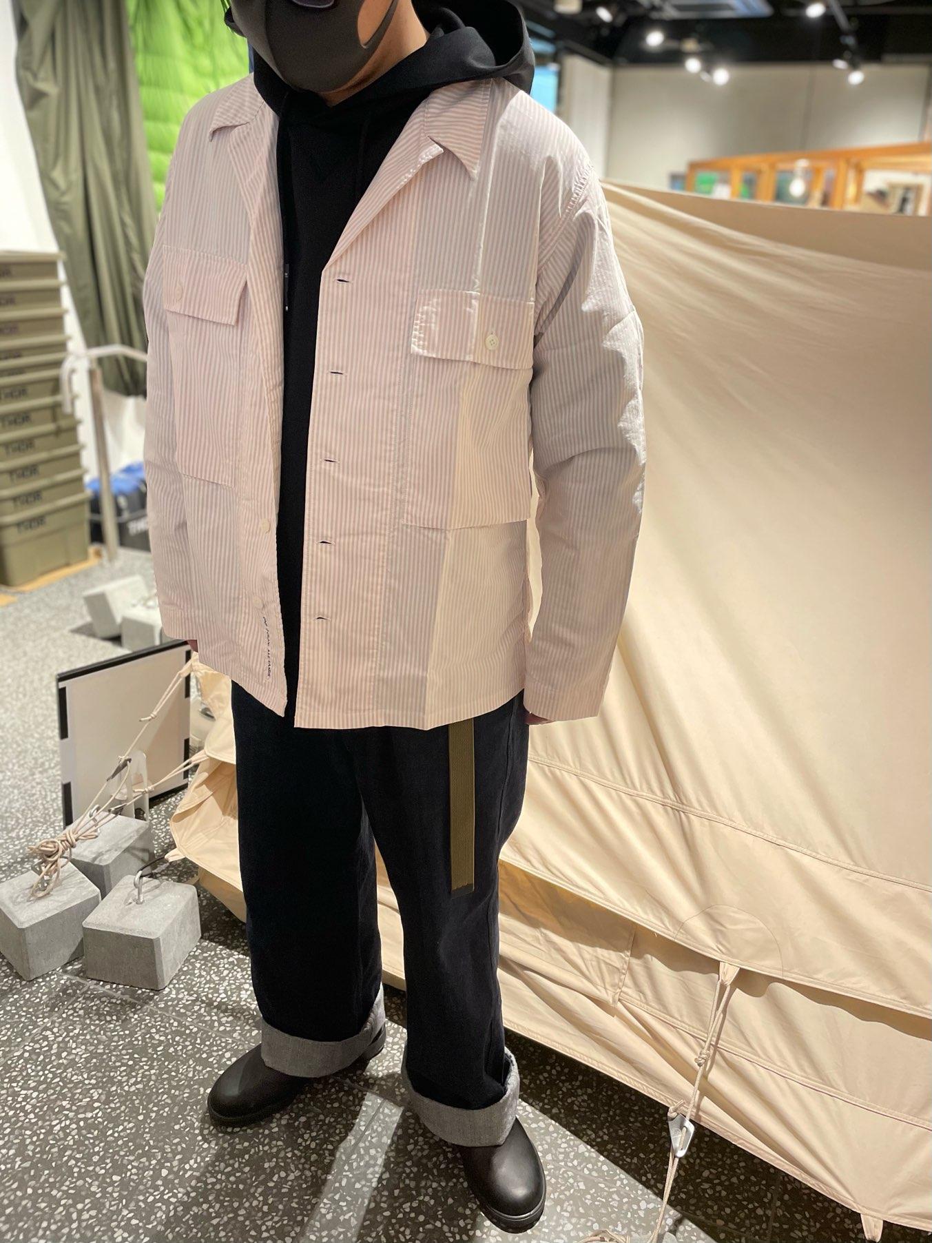 #133  -nanamica Utility Shirt Jacket-