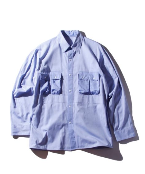 F/CE.®︎ MODULE POCKET SHIRTS / エフシーイー モジュール ポケット シャツ