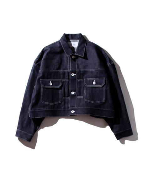 F/CE. ORGANIC DENIM SHORT JK / エフシーイー オーガニック ショートデニムジャケット