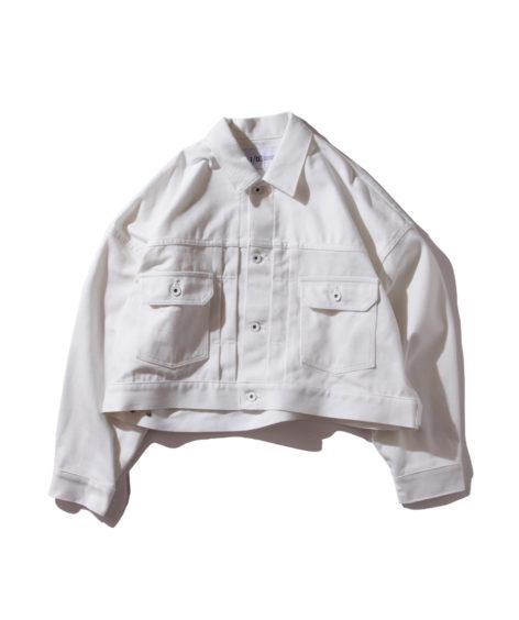 F/CE. ORGANIC DENIM SHORT JK / エフシーイー オーガニック ショートジャケット